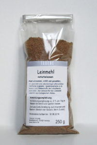 Leinmehl für Hunde - Ölmühle Huber